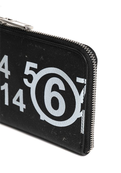 Portafoglio con stampa MM6 MAISON MARGIELA   Portafoglio   S63UI0002PR516