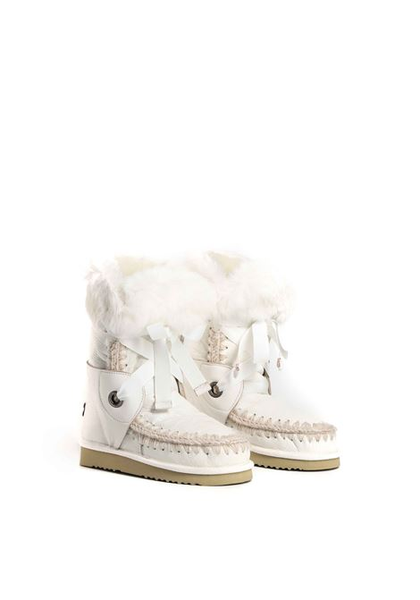 Eskimo lace and fur MOU | Stivali | FW101004CWXWHI