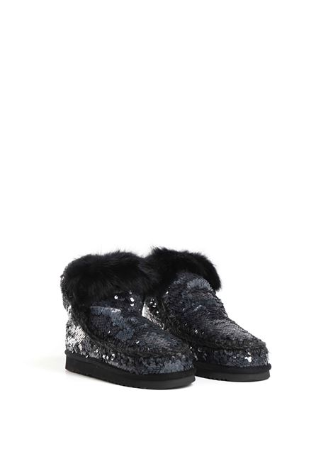Eskimo all sequins rabbit fur MOU | Stivali | FW101015GSEQNB