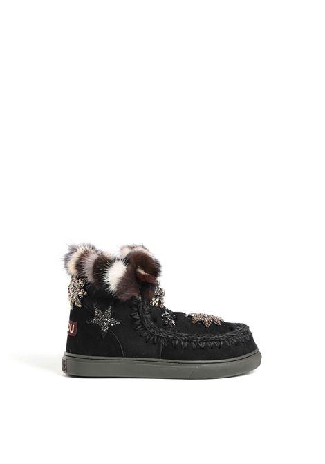 Eski sneaker star patch & mink MOU | Sneakers | FW111006ABKBK