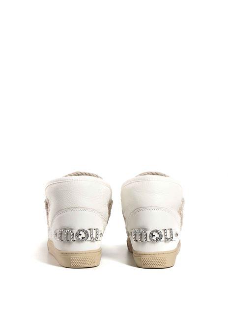 Eskimo sneaker rhinestone logo MOU | Sneakers | FW111020CWXWHI