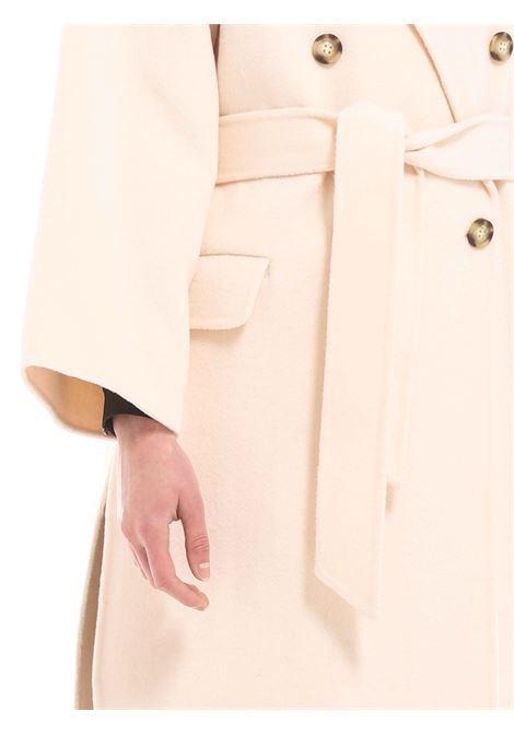Cappotto doppiopetto OTTODAME | Cappotto | DG5377PANNA