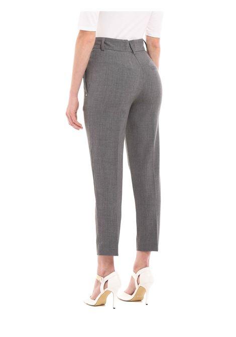 Pantalone cropped OTTODAME | Pantalone | DP8674GRIGIO