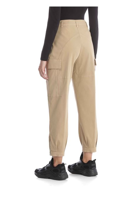 Pantlone vita alta SEMICOUTURE | Pantalone | Y0WO01BEIGE