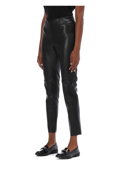 Pantalone ecopelle SEMICOUTURE | Pantalone | Y0WT04NERO