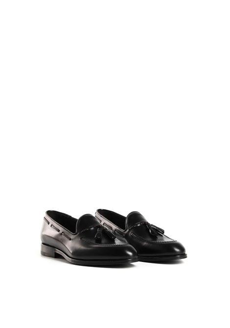 Mocassini di colore nero TAGLIATORE | Scarpe | HEAT0RI20-AS