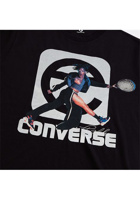 T-shirt ispirata alla tradizione del basket disegnata da Telfar Clemens TELFAR X CONVERSE | T-shirt | SS20-CON-20702MN03 TEE TELFAR