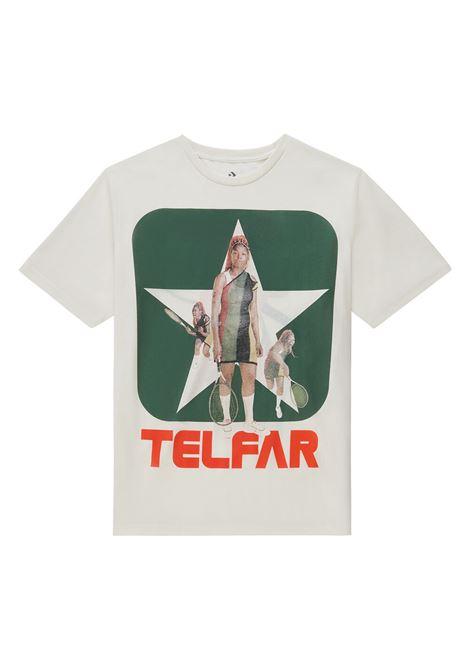 T-shirt ispirata alla tradizione del basket disegnata da Telfar Clemens TELFAR X CONVERSE | T-shirt | SS20-CON-20704MN03 TEE TELFAR