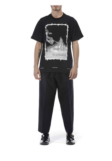 T-shirt stampa UNITED STANDARD | T-shirt | 20WUSTS12SAD MUSIC