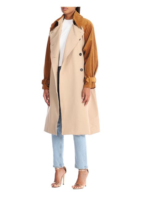 Trench over WEILI ZHENG | Trench | WWZCL76BEIGE