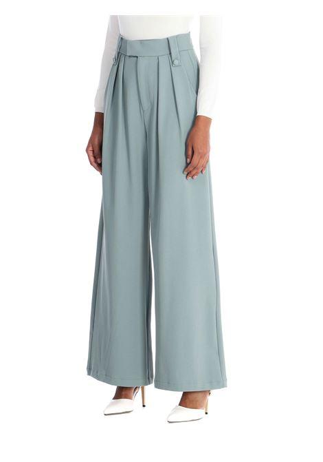 Pantalone a palazzo WEILI ZHENG | Pantalone | WWZPL145VERDE