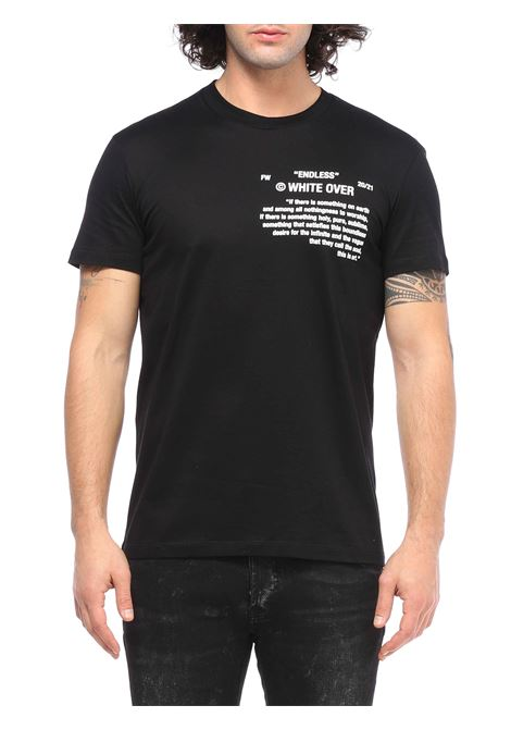 T-shirt girocollo WHITE OVER | T-shirt | TS/103BUNNER