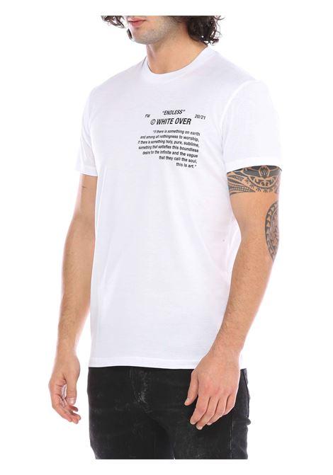 T-shirt girocollo WHITE OVER | T-shirt | TS/103BUNNERB