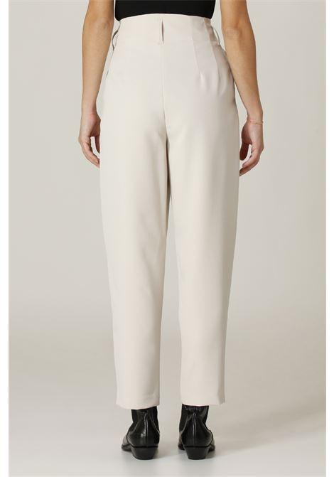 Pantalone vita alta ACTUALEE | Pantalone | PA002745GHIACCIO
