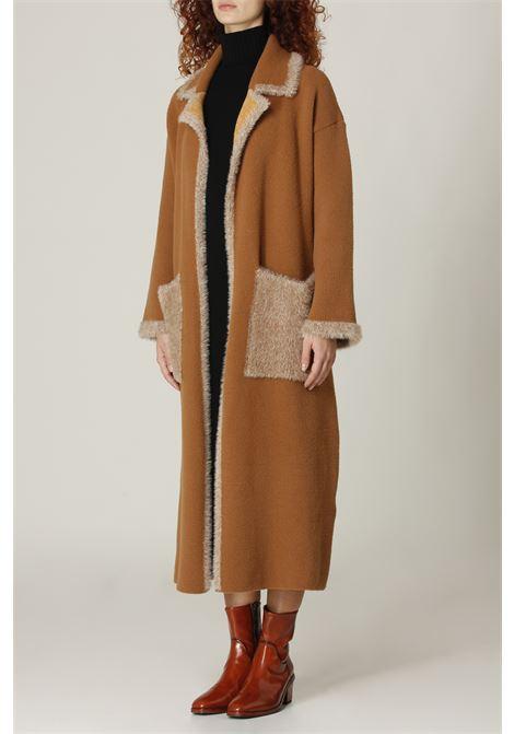 Cappotto lungo AKEP | Cappotto | K11085CAMMELLO