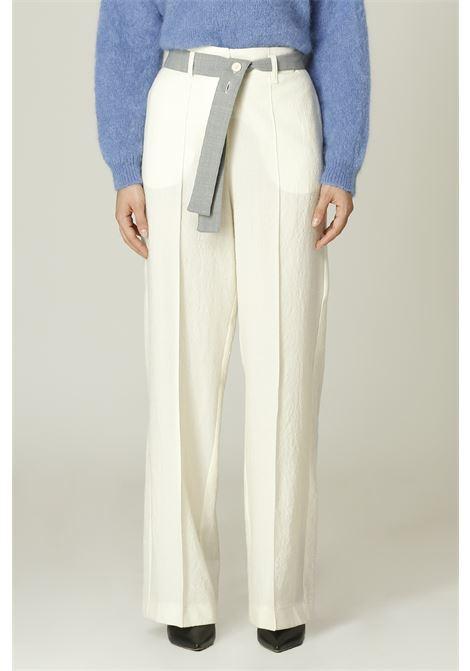 Pantalone con cintura ALYSI | Pantalone | 151132A1216PANNA