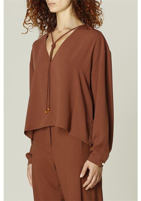 Camicia crepe ALYSI | Camicia | 151232A1043COCCIO