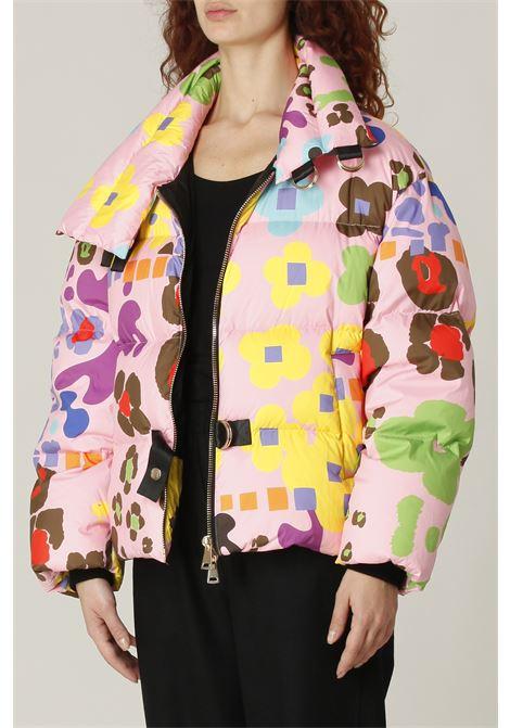 Piumino multicolor BLokk | Bomber | BL83ROSA