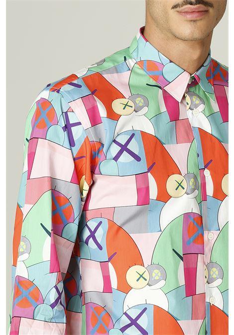 Camicia con stampa KAWS COMME DES GARCONS SHIRT | Camicia | FH-B019-W2162052000