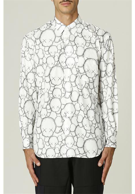 Camicia con stampa KAWS COMME DES GARCONS SHIRT | Camicia | FH-B025-W2162052000