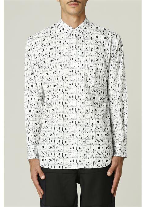 Camicia con stampa KAWS COMME DES GARCONS SHIRT | Camicia | FH-B029-W2162052000