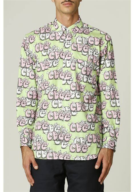 Camicia con stampa KAWS COMME DES GARCONS SHIRT | Camicia | FH-B033-W2162052000