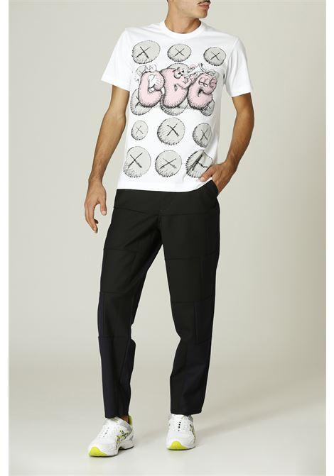 T-shirt con stampa KAWS COMME DES GARCONS SHIRT | T-shirt | FH-T003-W2161091000