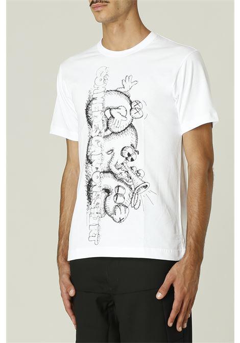 T-shirt con stampa KAWS COMME DES GARCONS SHIRT | T-shirt | FH-T007-W2161091000