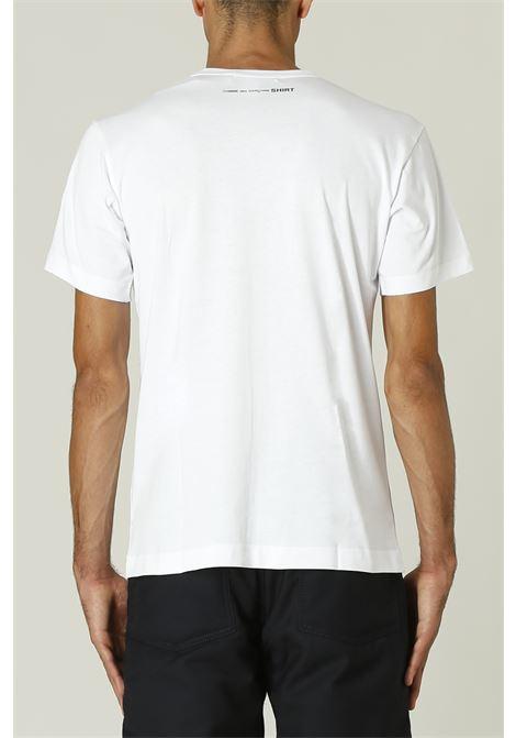 T-shirt con logo sul retro COMME DES GARCONS SHIRT | T-shirt | FH-T013-W2161142000B