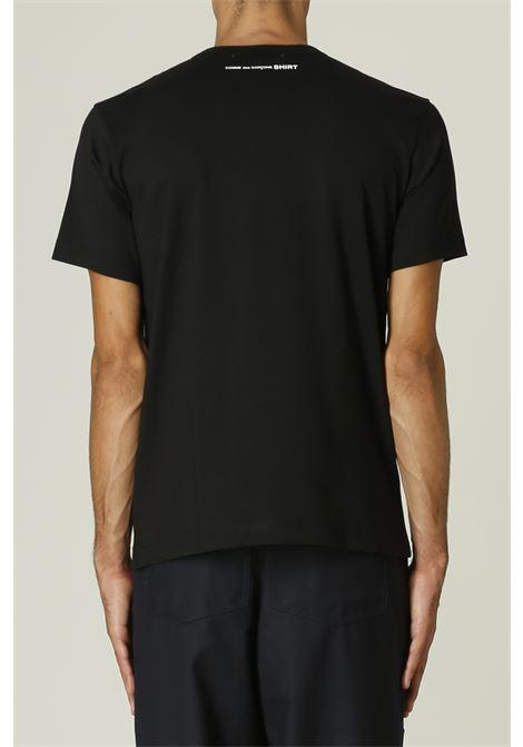 T-shirt con logo sul retro COMME DES GARCONS SHIRT | T-shirt | FH-T013-W2161142000