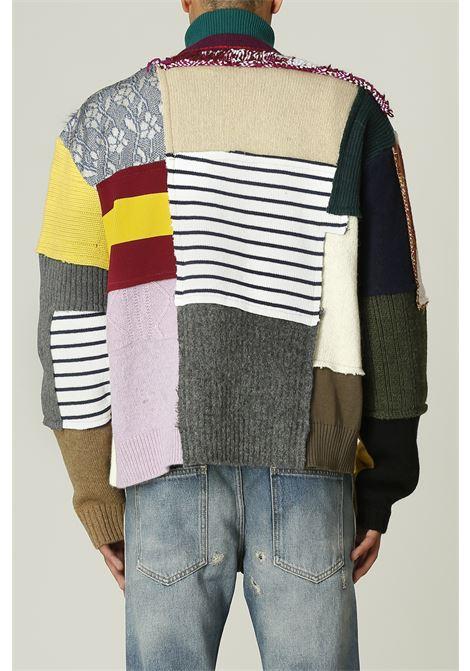 Cardigan patchwork DANILO PAURA | Cardigan | GWENDALMULTICOLOR
