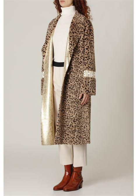 Cappotto leopardato GLOX | Cappotto | GL201LEOPARDATO