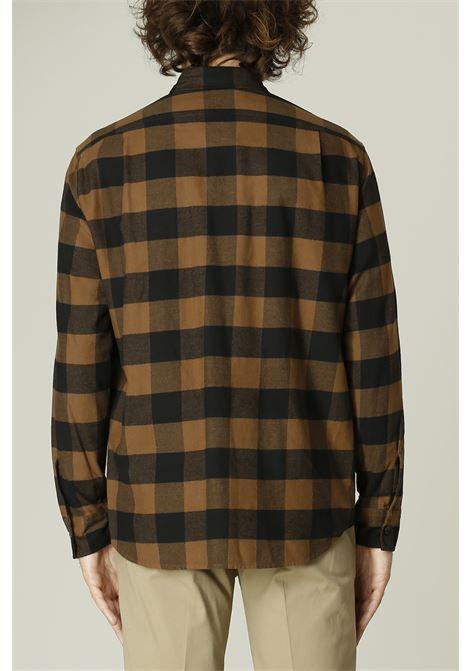 Camicia a Quadri GRIFONI | Camicia | GL120033/9TMARRONE/NERO