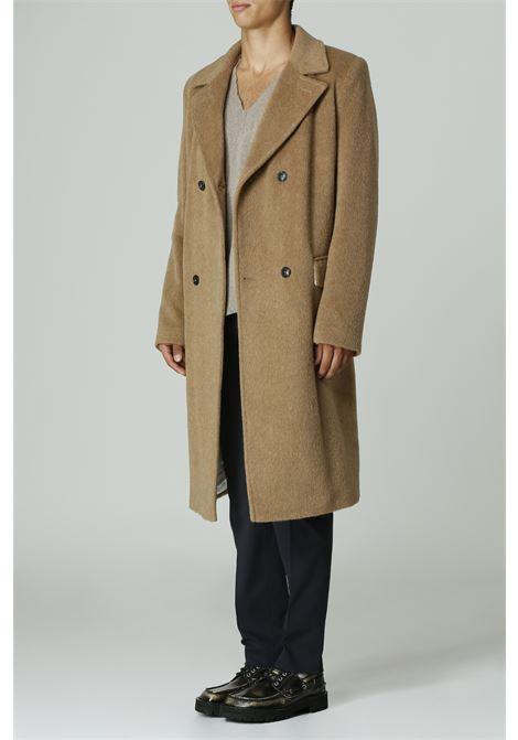 Cappotto doppiopetto GRIFONI | Cappotto | GL160010/30MARRONE