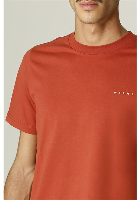 T-shirt con logo MARNI | T-shirt | HUMU0170S000M38