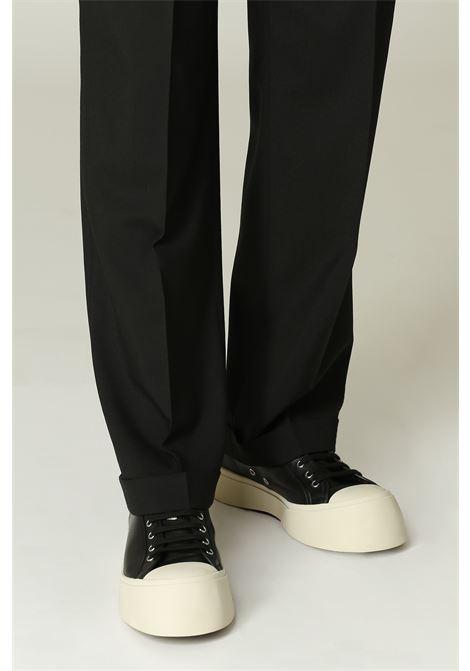 Pantalone con pince MARNI   Pantalone   PUMU0091A000N99