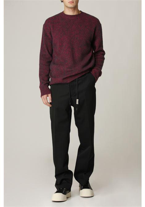 Pantalone con pince MARNI   Pantalone   PUMU0110A000N99