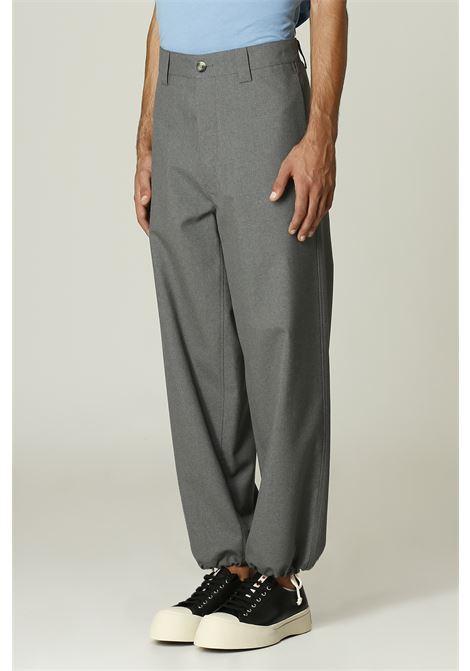 Pantalone con coulisse sul fondo MARNI   Pantalone   PUMU0160A000N60