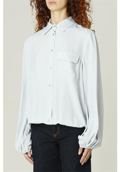Camicia con taschino MERCI   Camicia   C315POLVERE