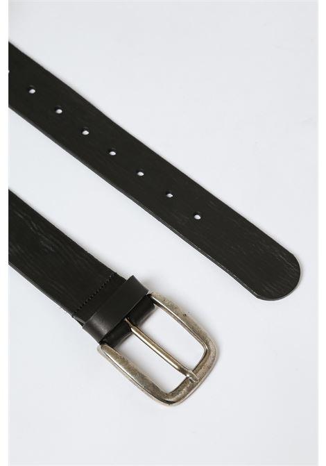 Cintura in pelle MERCI | Cinture | CINT27NERO
