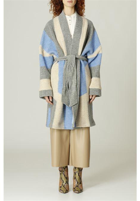 Cappotto a vestaglia MERCI | Cappotto | H149AZZURRO