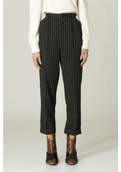 Pantalone gessato MERCI | Pantalone | P295IGRIGIO