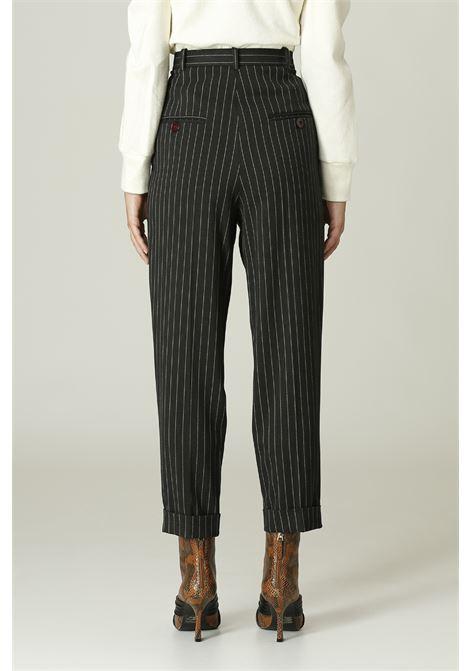 Pantalone gessato MERCI   Pantalone   P295IGRIGIO