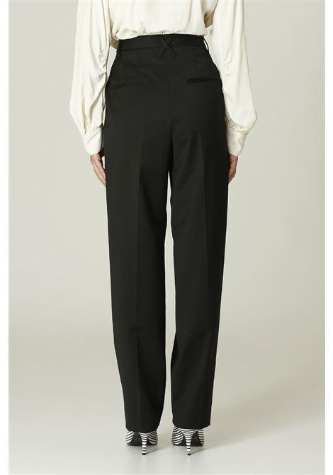Pantalone vita alta MERCI   Pantalone   P304NERO