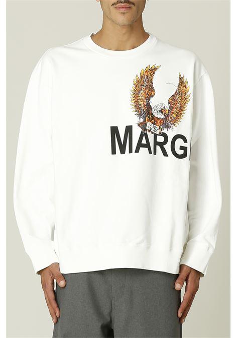 Felpa con logo MM6 MAISON MARGIELA | Felpa | S52GU0141S25337B