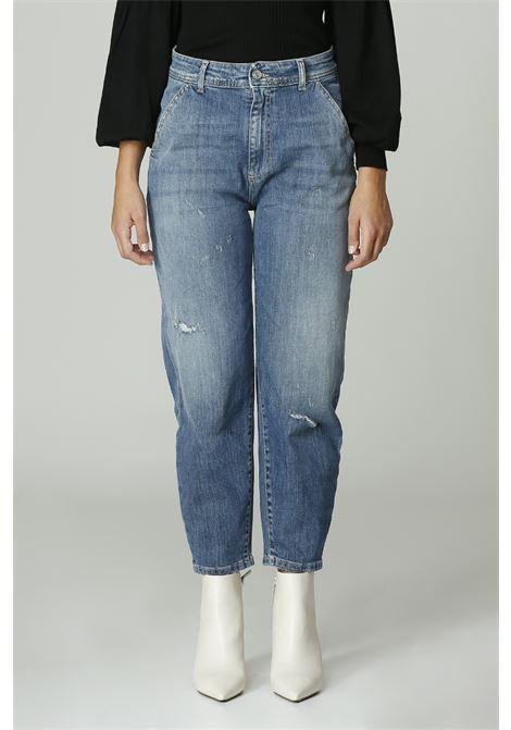 Jeans Mom fit NOIR'N'BLEU | Jeans | SERAPHINE-17BLU