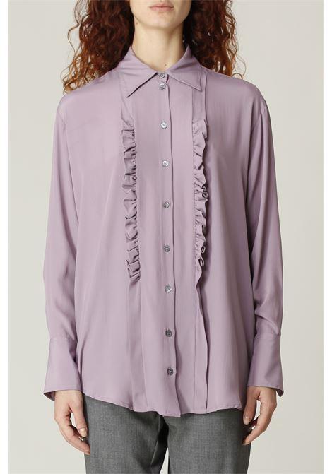 Camicia lunga OTTODAME | Camicia | DC4579LILLA