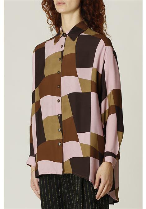 Camicia oversize OTTODAME | Camicia | DC4586ROSA