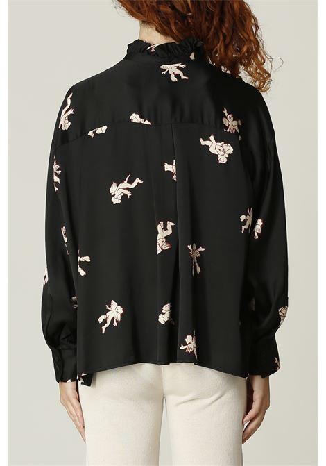 Camicia angeli OTTODAME | Camicia | DC4595NERO