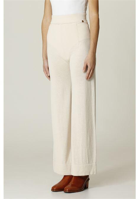 Pantalone in lana OTTODAME | Pantalone | EP8940PANNA